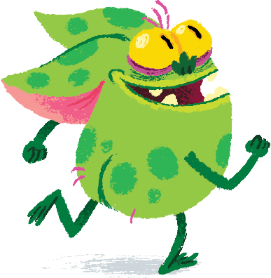 A runaway gremlin by Chris Chatterton