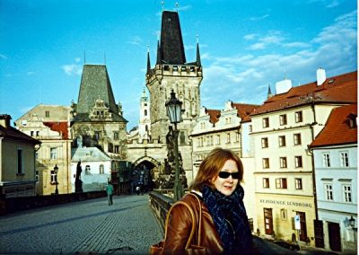 Charlotte in Prague