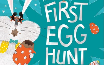 Waterstones signing and an actual egg hunt!